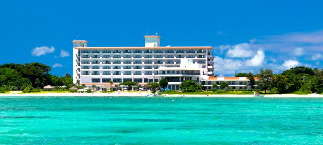 石垣島プライベートビーチのあるホテル