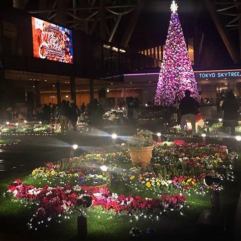 東京スカイツリータウンドリームクリスマス 2018